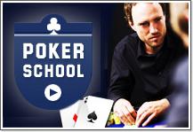 школа игры в покер от компании Unibet и 100 евро бонус в их покер руме для новых игроков